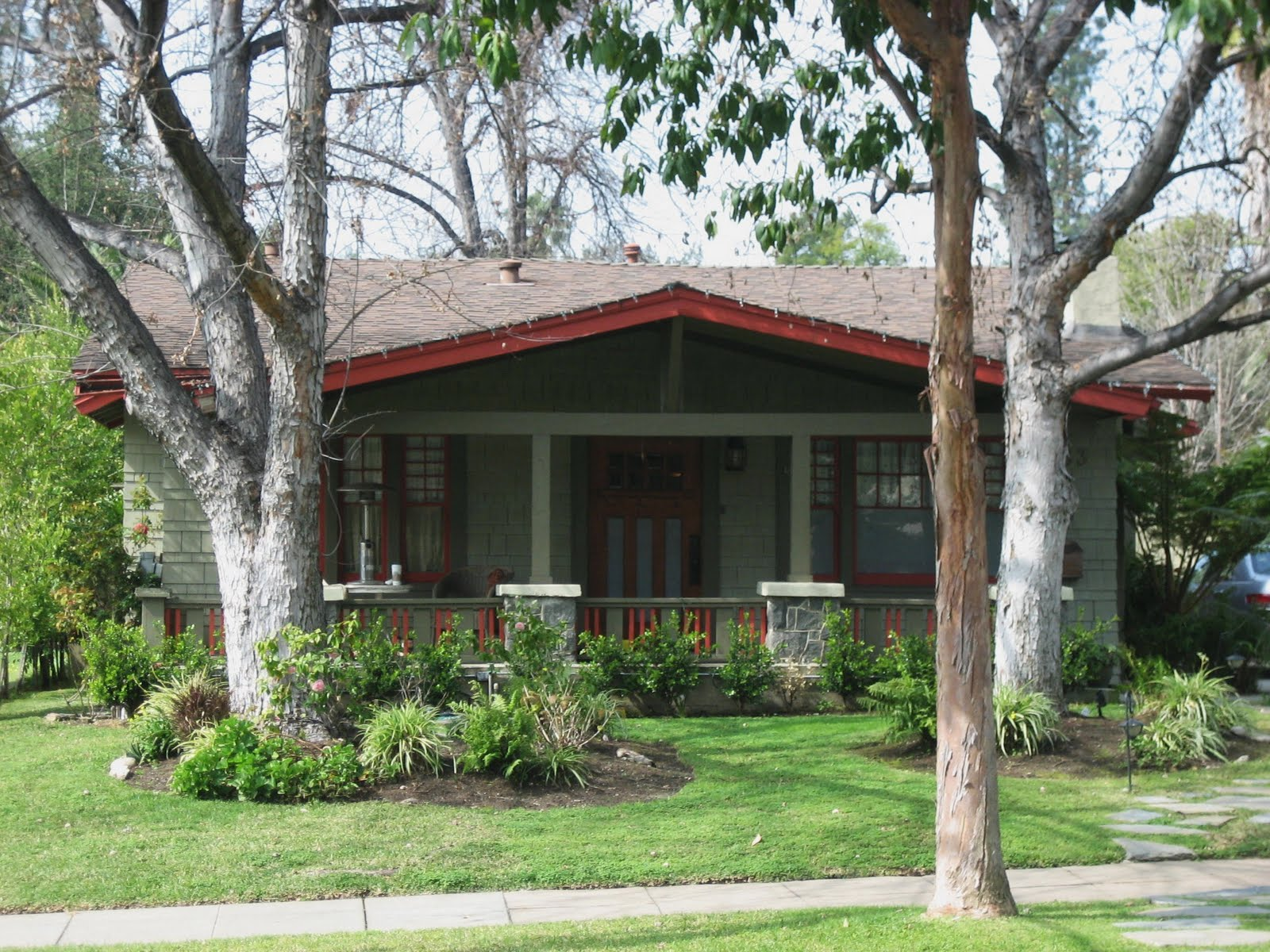 Style Architecture On 1910 Craftsman Bungalow Style House Plans