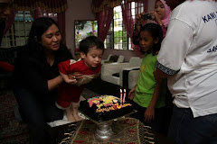 Syahmi's second birthday