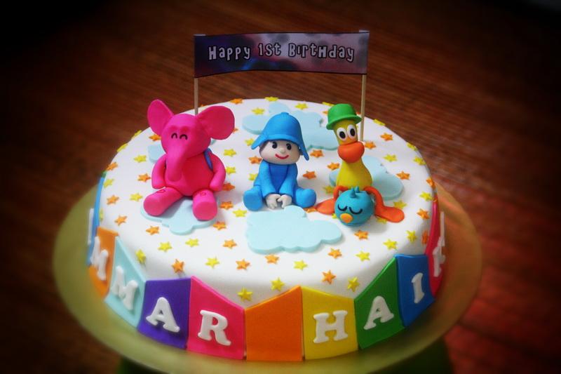 Rizq Cakes Pocoyo Birthday Cake