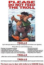 Aca no les damos de comer a los Trolls