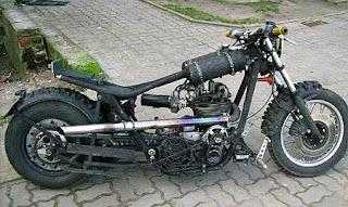 rottapyörä chopperi