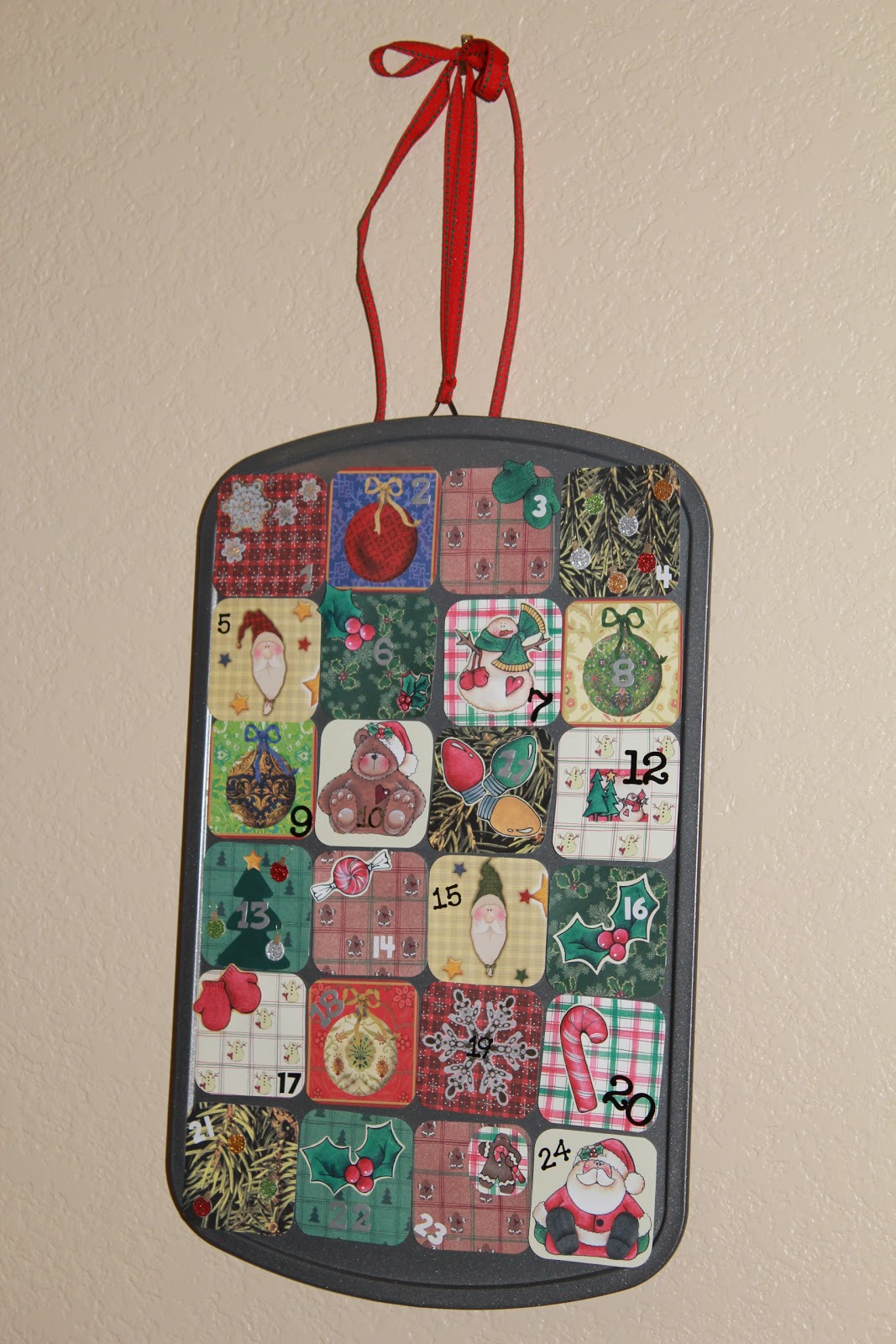 Diy Advent Calendar Muffin Tin : Mom endeavors muffin tin advent calendar