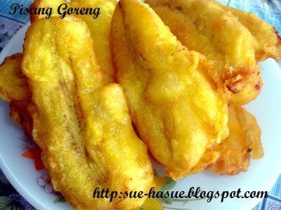 HaSue: I Love My Life: Pisang Goreng