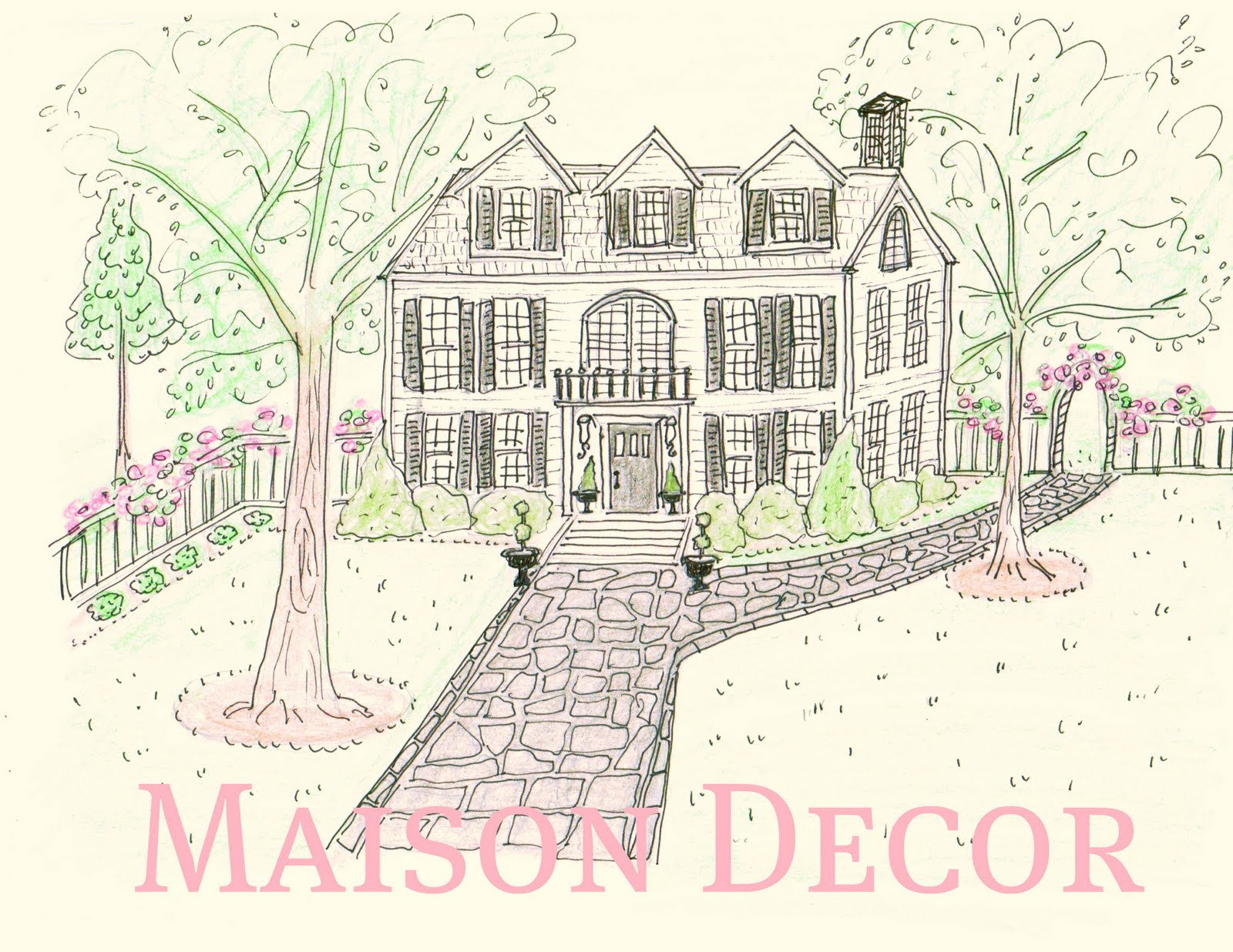 Maison decor designing a new blog header please comment for Dicor maison france
