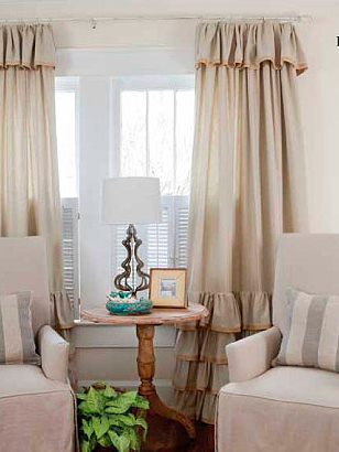 Linen Curtains - Roman Blinds, Linen Curtain Fabrics and Ready