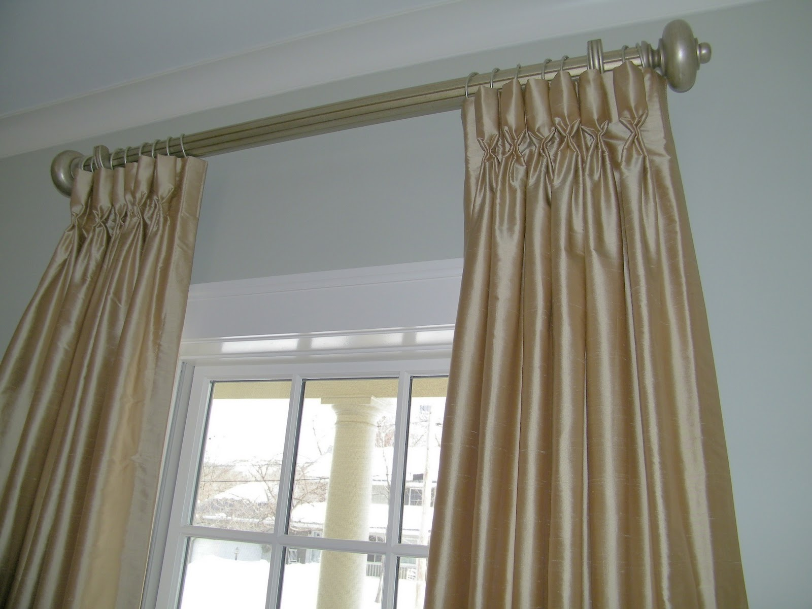 pinch how pleat hang on instructions to hanging a track pleated treatments window curtains