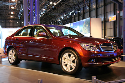 2008 Mercedes-Benz C-Class US at the NY Auto Show