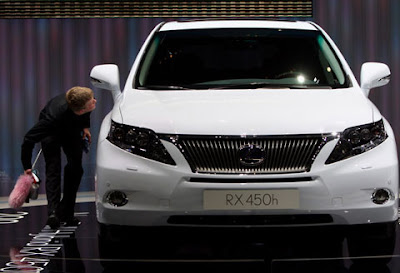 Lexus RX 450H Hybrid -  Geneva Auto Show