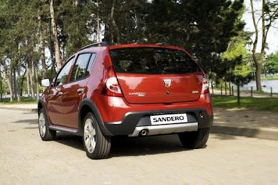Frankfurt Auto Show - Dacia Sandero Stepway