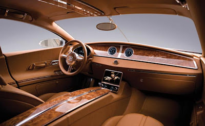 Bugatti Galibier concept car - Frankfurt Auto Show
