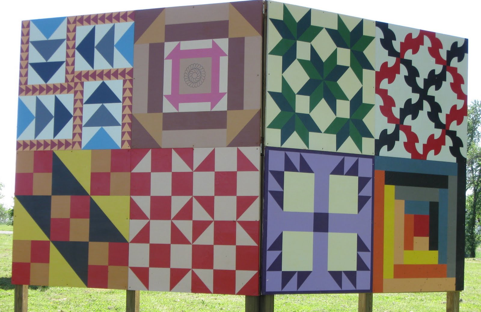 Quilt Patterns Slaves Used : Underground Railroad Code Templates