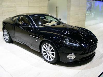 The Aston Martin V12 Vanquish