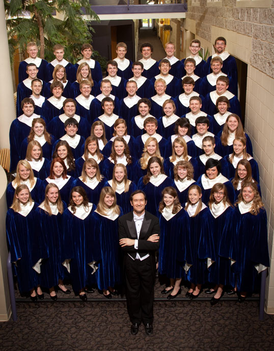 Nordic Choir of Luther College 2010-2011 photo thanks to the choir's FB page