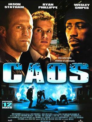 Filme Poster Caos DVDRip XviD & RMVB Dublado