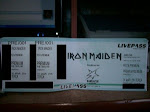 INGRESSO DO SHOW DO IRON MAIDEN► EU FUI!