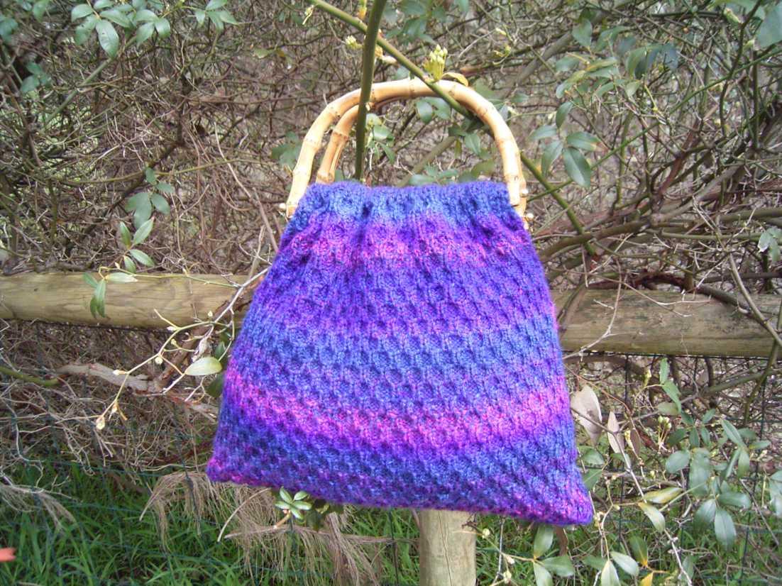 Knitting Yarn Bag Pattern : Yarn Bag Pattern Patterns Gallery