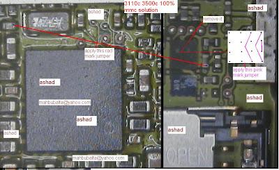 Nokia 3110C Memory Card Ic Jumper