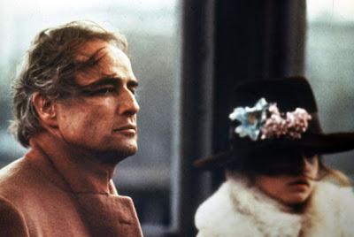 Marlon Brando e Maria Schneider em 'Last Tango in Paris'