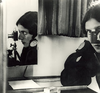 self-portrait, ilse bing