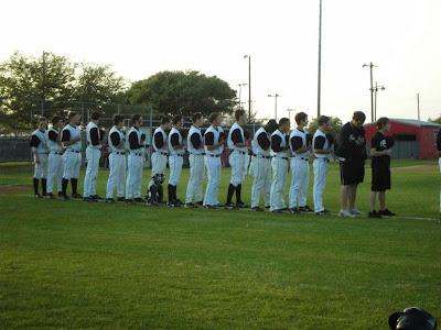 Forney High School baseball team 2009 at Ben Gill Field in Terrell.