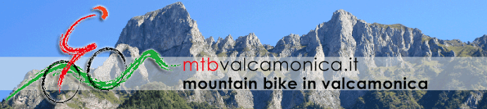 Mountain bike in Vallecamonica