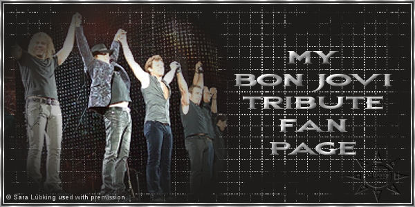 My Bon Jovi Tribute Fan Page