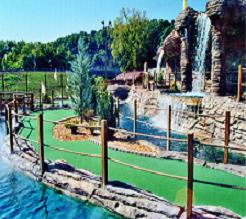 ... MINIATURE GOLF...