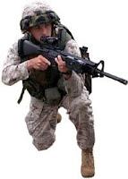 A U.S.Marine