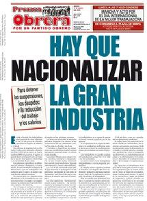 Prensa Obrera 1073