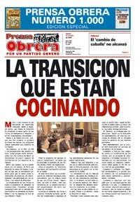 Prensa Obrera 1000