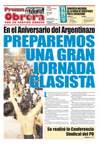 Prensa Obrera 1109