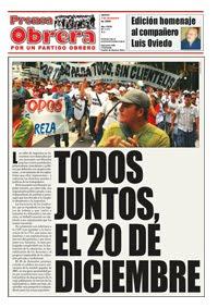 Prensa Obrera Nro 1111