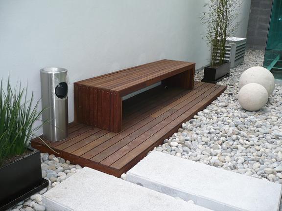 Arma tu deck en la viruta madera ecologica sin for Astillas de madera para jardin