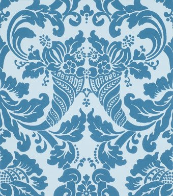 Block Print Wallpaper flowerpress: vintage block print wallpaper