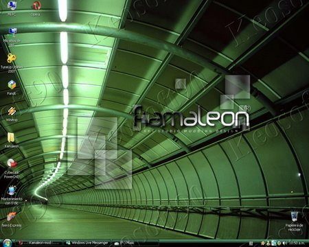 11111111 Windows XP SP3 Kamaleon Dark Green x86 2009  Full