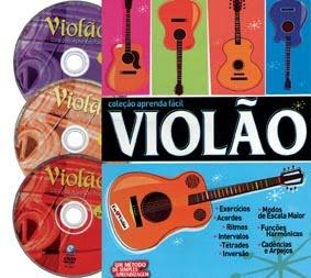 baixar capa Aprenda Fácil Violão | 3 DVDs