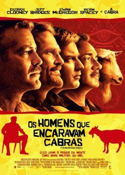 Filme Poster Os Homens Que Encaravam Cabras DVDRip RMVB Dublado
