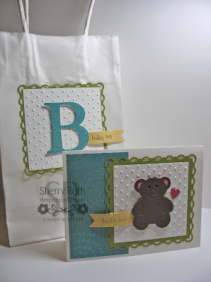 B is for Baby Card & Packaging
