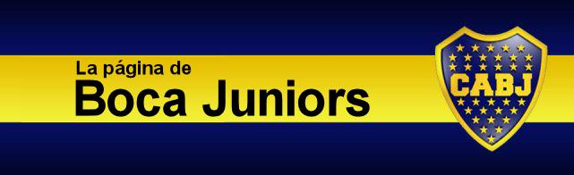 La página de Boca Juniors