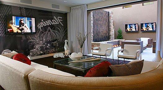 Living Room Modern Home Design