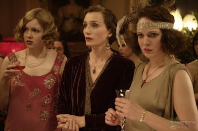 Kimberley Nixon, Kristin Scott Thomas and Katherine Parkinson (left to right) in Easy Virtue