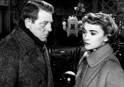 Jean Gabin (left) and Danièle Delorme in Deadlier Than the Male