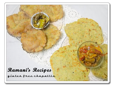 Gluten Free Chapatis - Ramani's Recipes