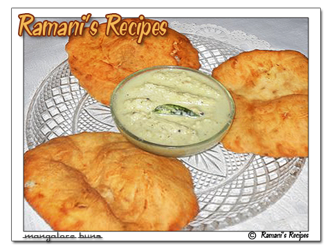 Ramani&#39;s Recipes: Mangalore Buns (Fried Banana Buns)