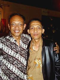 Mas Tiyas (Ketua Rt.53) dan Bp Walikota DIY, Bp. H. HERRY ZUDIANTO