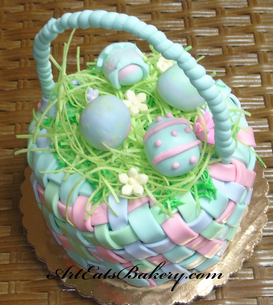 Easter Cake Design Ideas : Art Eats Bakery custom fondant wedding and birthday cake ...