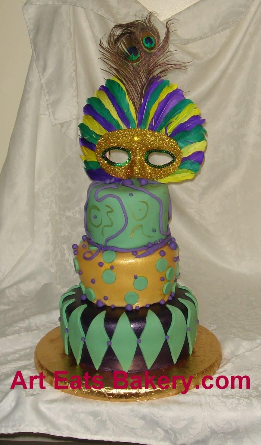 Art Eats Bakery custom fondant wedding and birthday cake designs ...