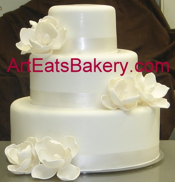 Art Eats Bakery custom fondant wedding and birthday cake ...