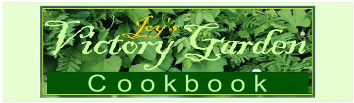Joy's Victory Garden Cookbook