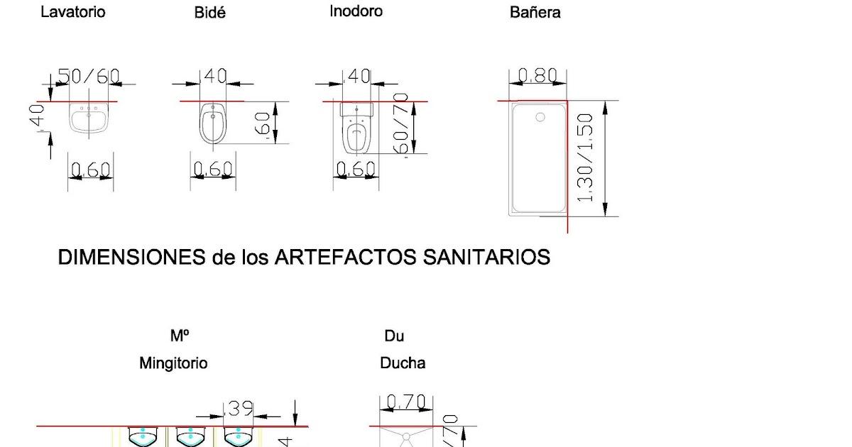 Instalaciones 1 fam dise o de un ba o Dimensiones de una banera